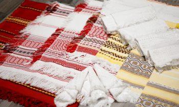 Узорно-ремизное ткачество